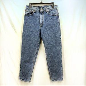 Vintage 90's Levi's 550 denim jeans 33X30